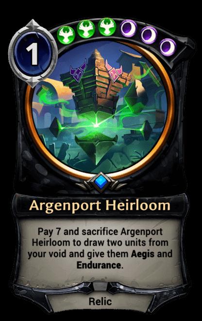 Card image for Argenport Heirloom
