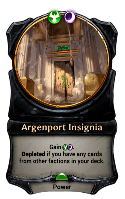Card image for Argenport Insignia