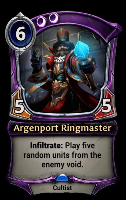 Card image for Argenport Ringmaster