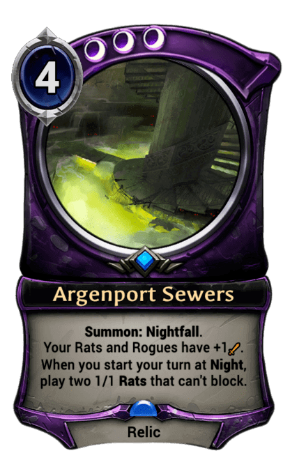 Card image for Argenport Sewers