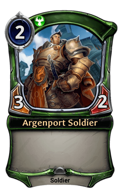 Card image for Argenport Soldier