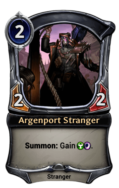Card image for Argenport Stranger