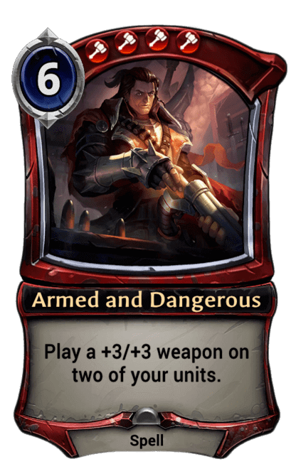 Card image for Armed and Dangerous
