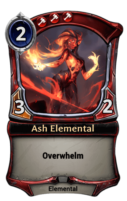 Card image for Ash Elemental