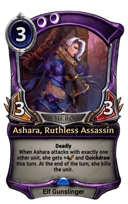 Card image for Ashara, Ruthless Assassin