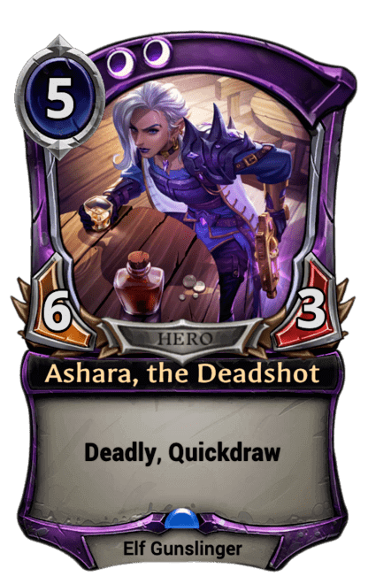 Card image for Ashara, the Deadshot