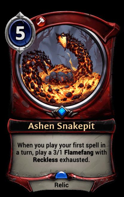 Card image for Ashen Snakepit