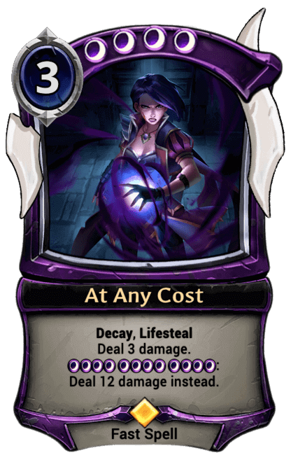 Card image for At Any Cost