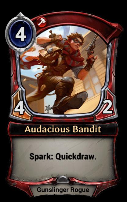 Card image for Audacious Bandit