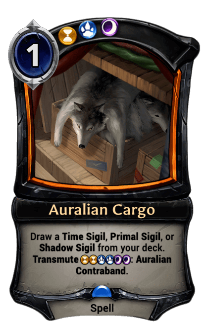 Card image for Auralian Cargo
