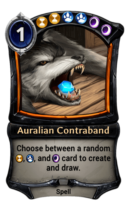 Card image for Auralian Contraband
