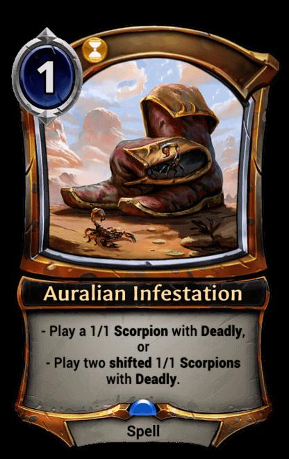 Card image for Auralian Infestation