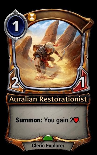Card image for Auralian Restorationist