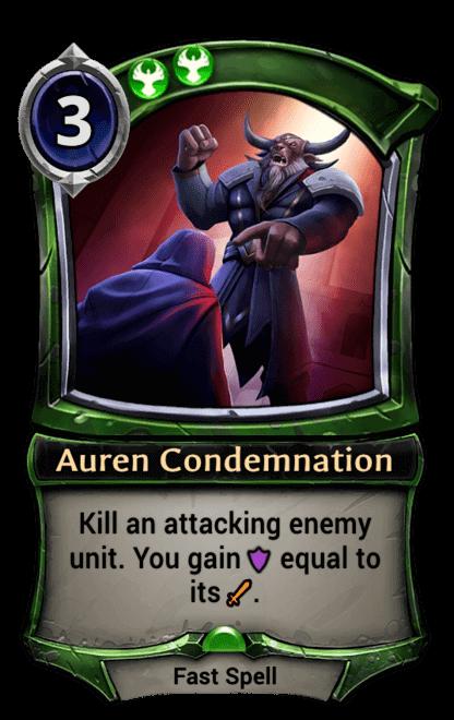Card image for Auren Condemnation