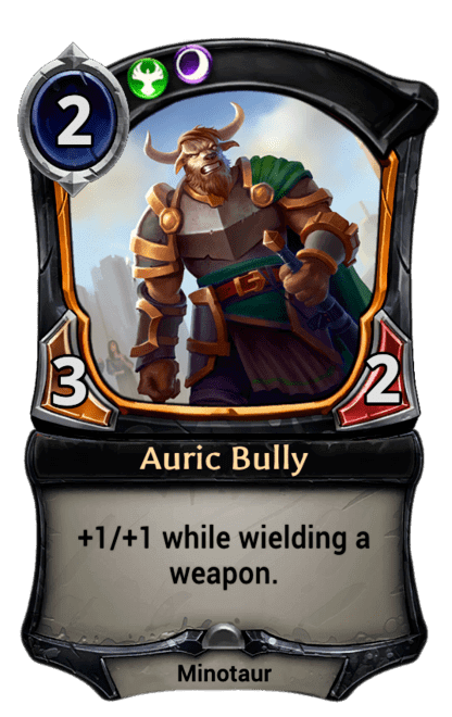 Card image for Auric Bully