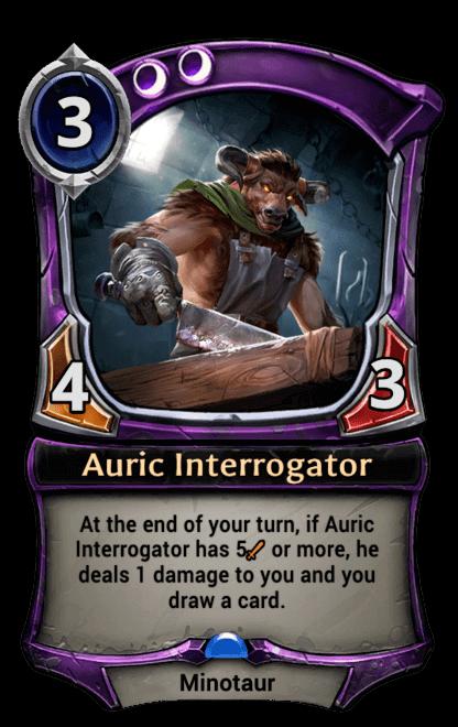 Card image for Auric Interrogator