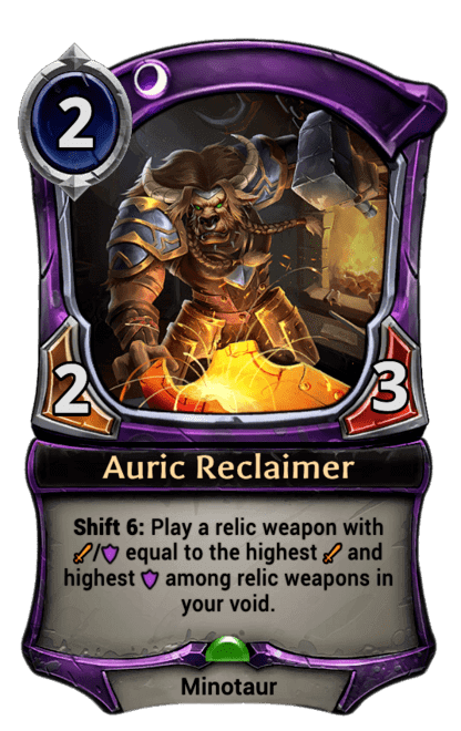Card image for Auric Reclaimer