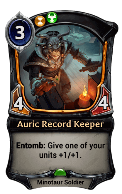 Card image for Auric Record Keeper