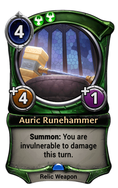 Card image for Auric Runehammer