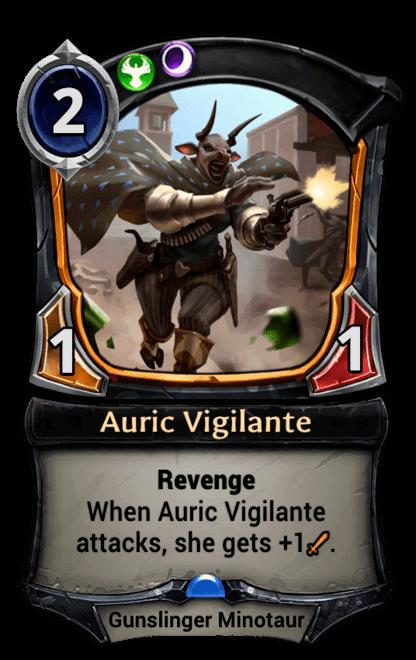 Card image for Auric Vigilante