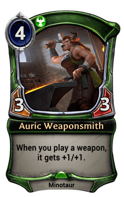 Card image for Auric Weaponsmith