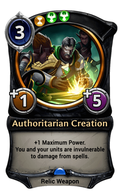 Card image for Authoritarian Creation