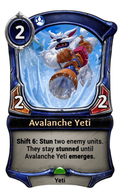 Card image for Avalanche Yeti