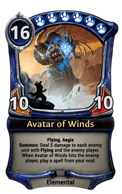 Card image for Avatar of Winds