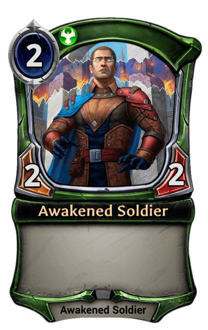 Card image for Awakened Soldier