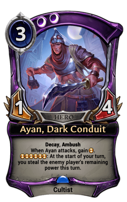 Card image for Ayan, Dark Conduit