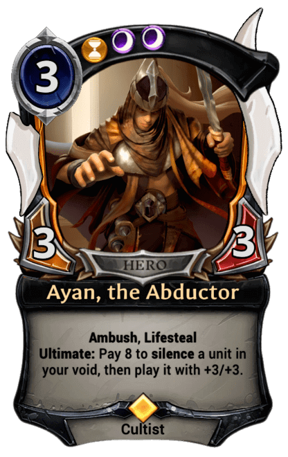 Card image for Ayan, the Abductor