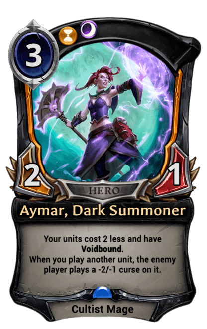 Card image for Aymar, Dark Summoner