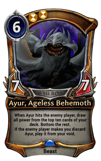 Card image for Ayur, Ageless Behemoth