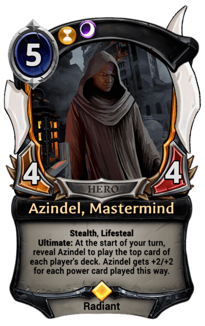 Card image for Azindel, Mastermind
