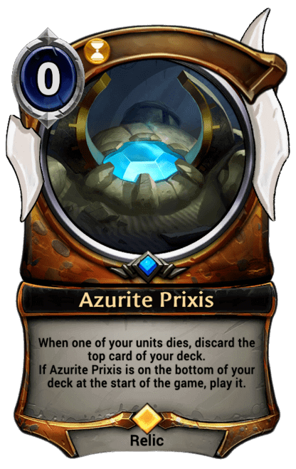Card image for Azurite Prixis