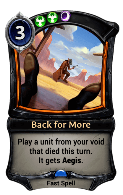 Card image for Back for More