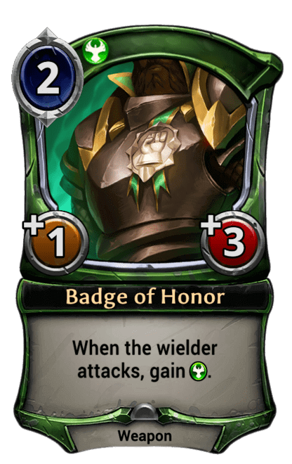Card image for Badge of Honor