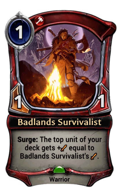 Card image for Badlands Survivalist