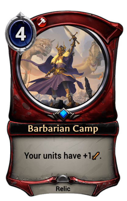 Card image for Barbarian Camp