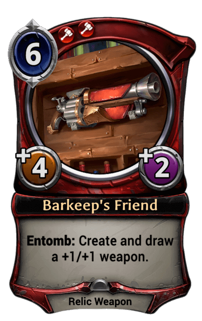 Card image for Barkeep's Friend