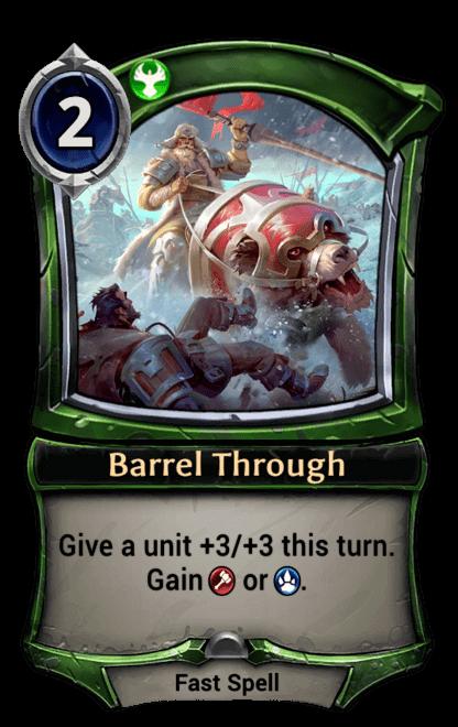Card image for Barrel Through