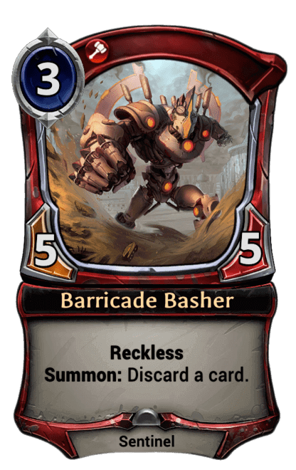 Card image for Barricade Basher