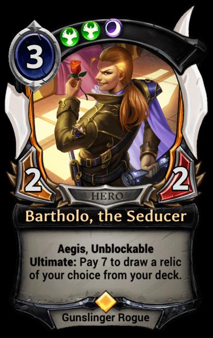 Card image for Bartholo, the Seducer
