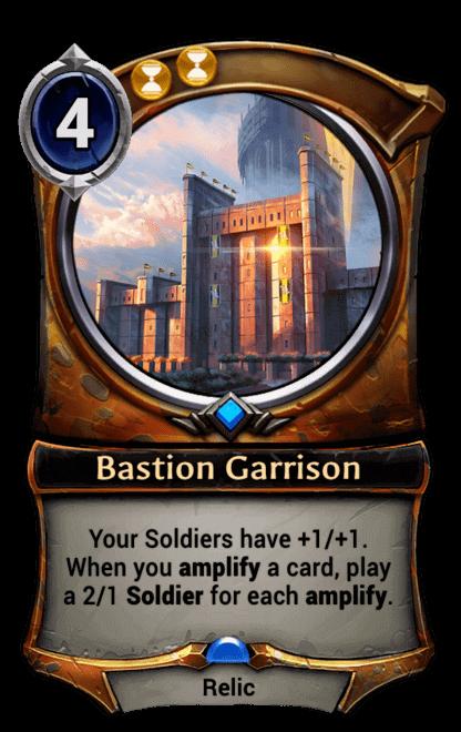 Card image for Bastion Garrison