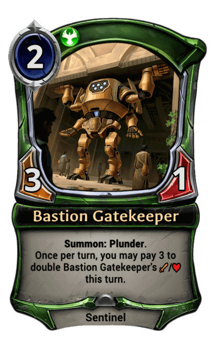 Card image for Bastion Gatekeeper
