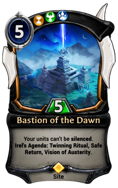 Card image for Bastion of the Dawn