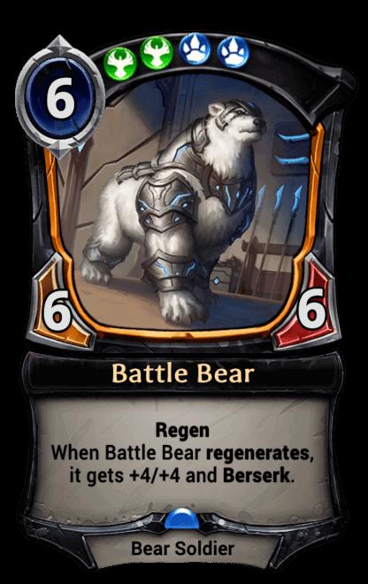 Card image for Battle Bear