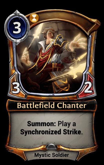 Card image for Battlefield Chanter