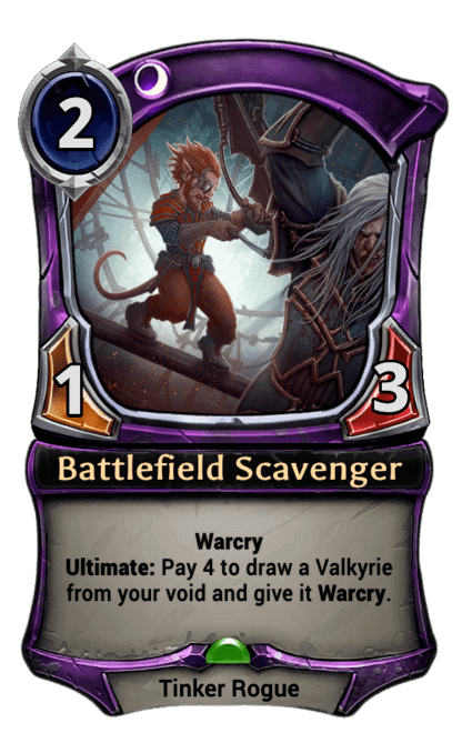 Card image for Battlefield Scavenger