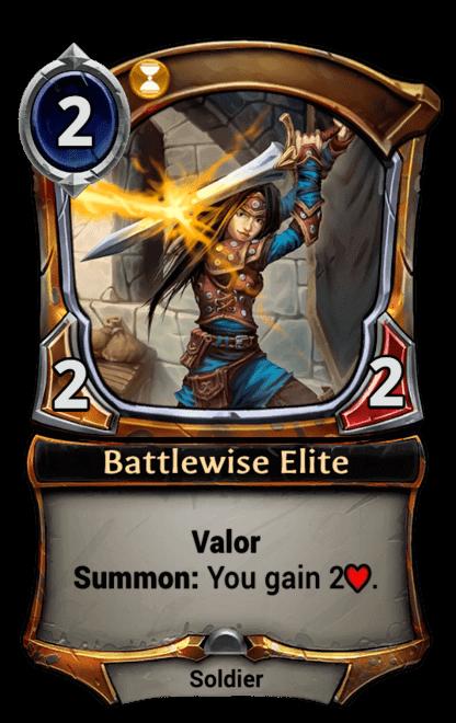 Card image for Battlewise Elite